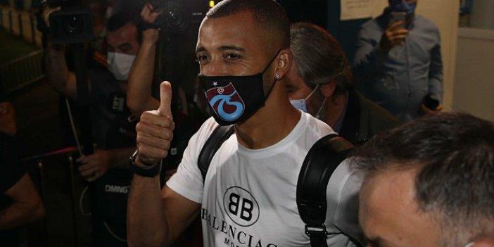 Trabzonspor'un yeni transferi Vitor Hugo İstanbul'a geldi