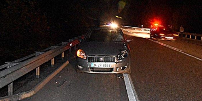 Sinop'ta aracın çarptığı kadın hayatını kaybetti