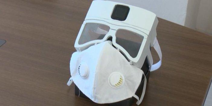 Dünyanın en akıllı maskesi Van'da üretildi. Modüler yapıya sahip. Verileri alıp merkeze iletecek