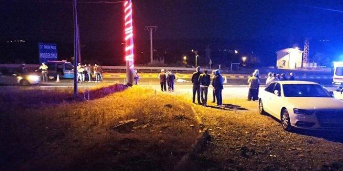Kastamonu'da feci kaza. 1 kişi hayatını kaybetti