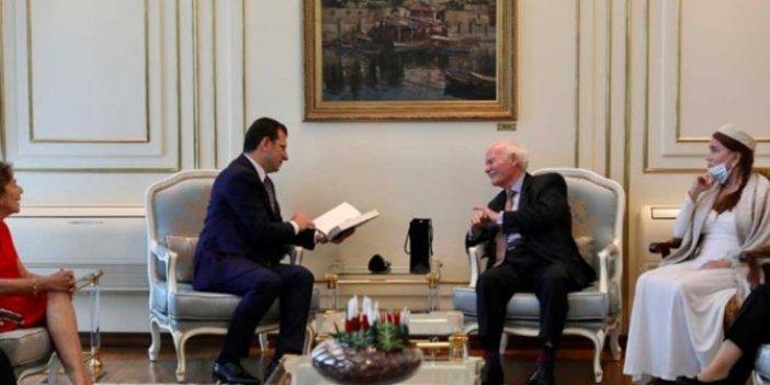 Osmanlı ailesi İBB Başkanı Ekrem İmamoğlu'nu ziyaret etti
