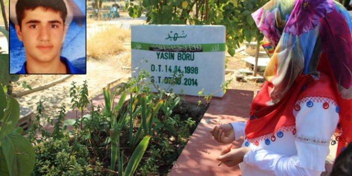 Yasin Börü ve arkadaşları mezarları başında anıldı