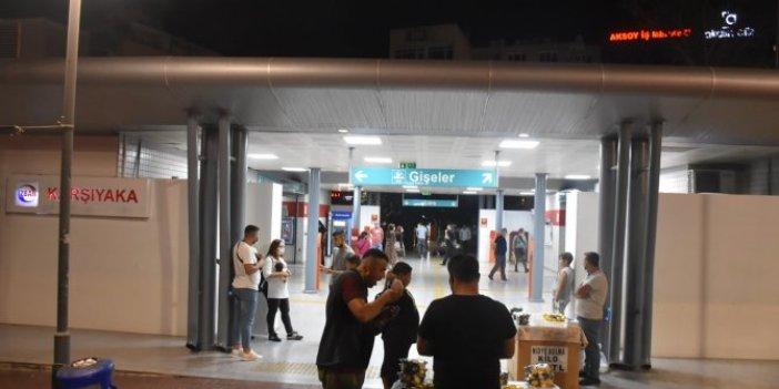 İzmir'de ölüm dehşeti! Metro raylarına atlayarak intihar etti