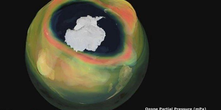 Antarktika üzerinde dehşet saçan görüntü. Bilim insanları kara kara düşünüyor. Dünya alarm veriyor
