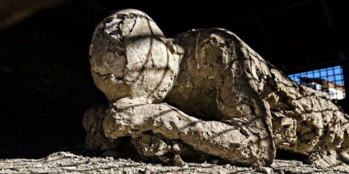 Pompei'de Vezüv yanardağı patlamasında taş kesilmişti! Bilim insanları buldu 2000 yıldır yaşıyor