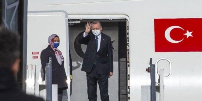 Erdoğan, Kuveyt ve Katar ziyareti için Ankara'dan hareket etti