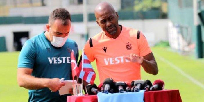 Trabzonspor Teknik Direktörü Newton'tan Flavio açıklaması