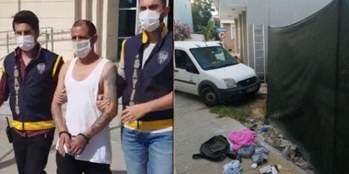 Girdiği evde çantasını bırakan şaşkın hırsız, başka eve girerken yakalandı