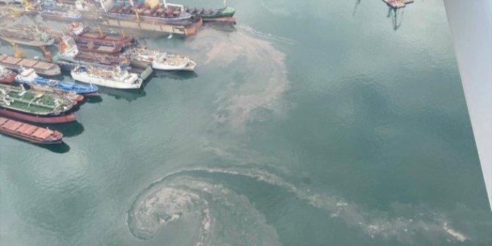 İstanbul Tuzla'da denizi kirleten gemiye rekor ceza