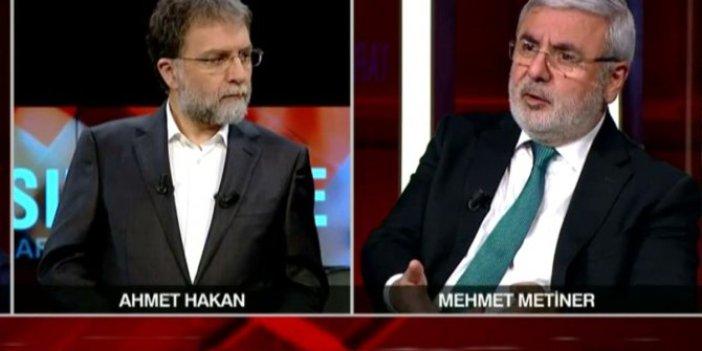 Mehmet Metiner Ahmet Hakan'a açıkladı. Tutuklanan HDP'li Ayhan Bilgen'e sahip çıktı