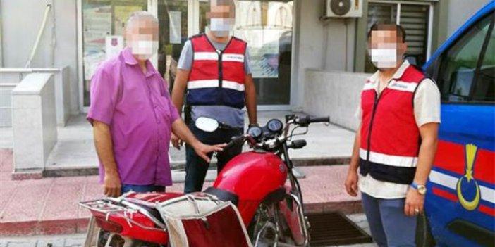 Motosiklet hırsızları 15 saat kamera görüntüsü izlenerek yakalandı