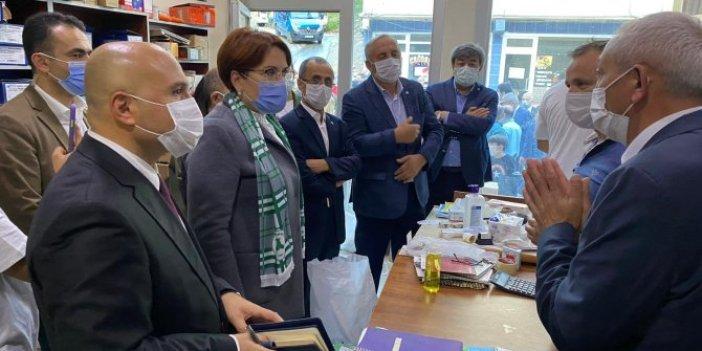 İYİ Parti Genel Başkanı Meral Akşener bir dokundu bin ah işitti. Giresunlu esnaf Akşener'e dert yandı