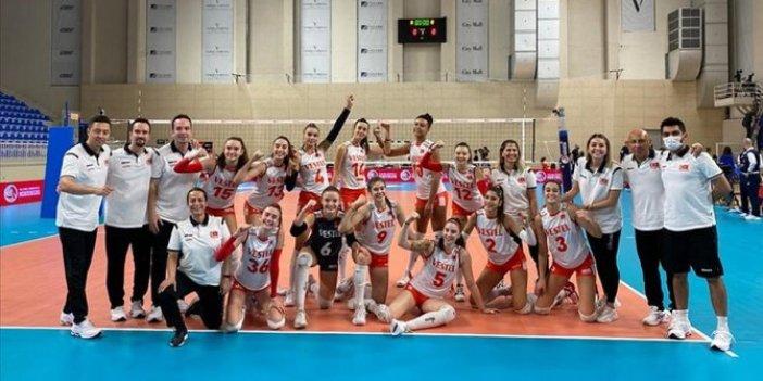 Türkiye 17 Yaş Altı Kızlar Avrupa Voleybol Şampiyonası'nda finale yükseldi