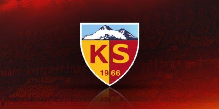 Kayserispor'da da bir futbolcunun korona testi pozitif çıktı