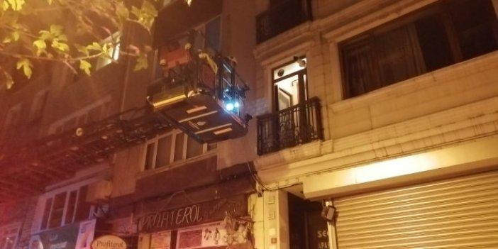 Binadan duyulan kadın çığlığı polisi alarma geçirdi!