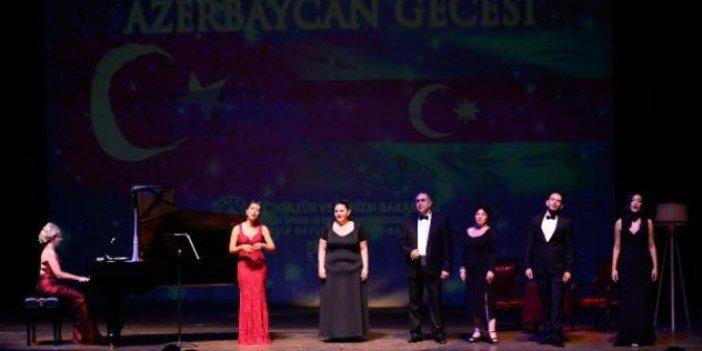 Devlet Opera ve Balesi'nden 'Azerbaycan Gecesi' konseri