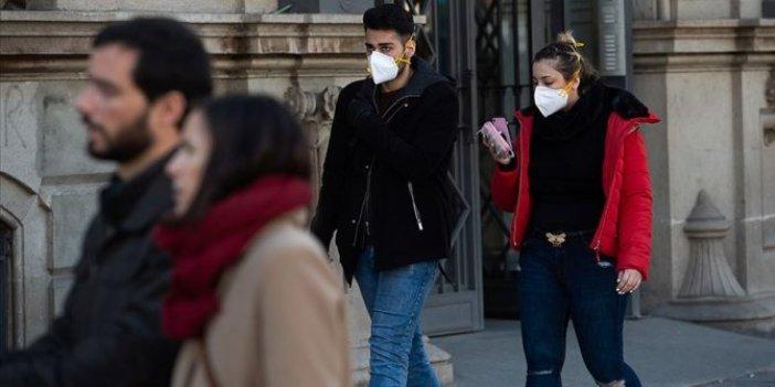 Madrid'de korona virüs nedeniyle OHAL ilan edildi