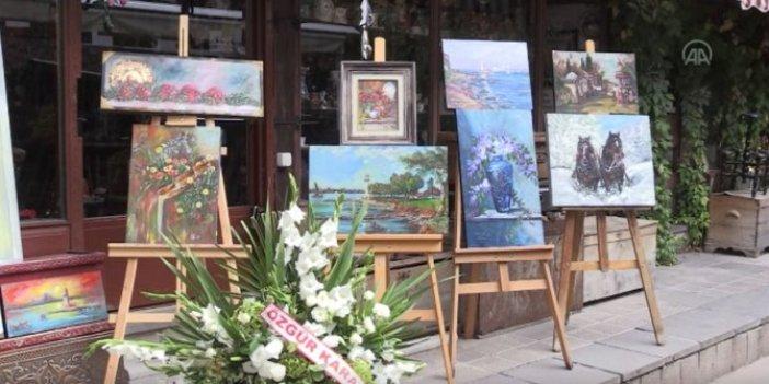 Başkentte Tüm Renkleri ile Küçük Hikayeler sergisi açıldı