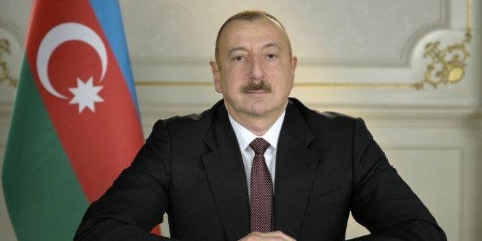 Aliyev'den son dakika açıklaması, Ateşkes Ermenistan tarafından bozuldu!