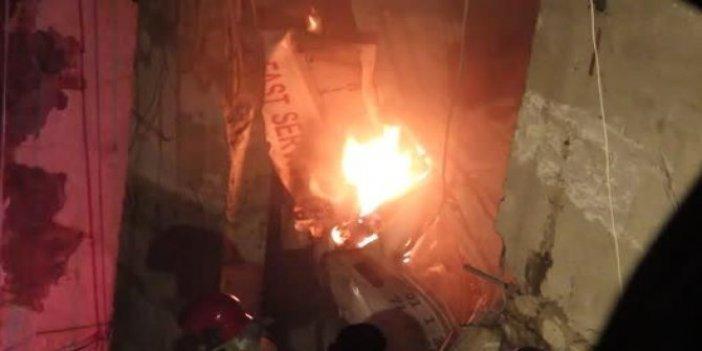Lübnan'da yakıt deposu patladı!