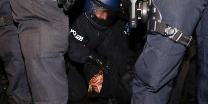 Solcular işgal etti, polis bastı