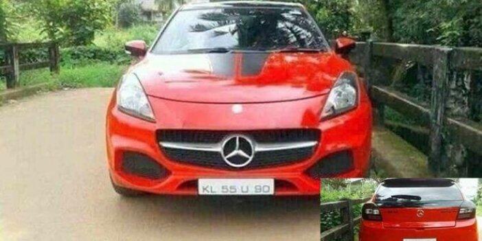 Mercedes diye aldı aracın içinden araç çıktı. Demek ki böyle olaylar sadece Türkiye'de olmuyormuş