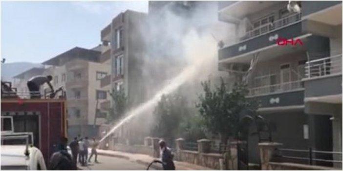 PKK'lı hainler Hatay'ı yakıyor