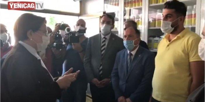 Meral Akşener'in Yozgat'ta esnaf ziyaretinde korkunç gerçek ortaya çıktı