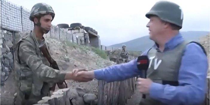 O kahraman askerden acı haber geldi. Taarruzdan önce son kez TV100 muhabiri Burak Ersemiz ile konuşmuştu
