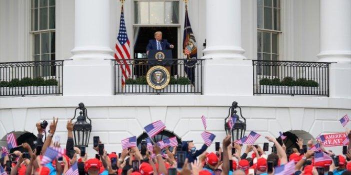 Korona virüse yakalanan Trump, Beyaz Saray'dan halka seslendi