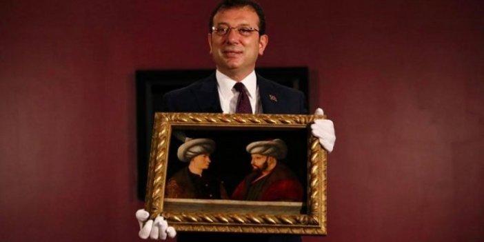AKP'li eski vekilden İBB'nin satın aldığı Fatih'in tablosu ile ilgili çok konuşulacak yorum