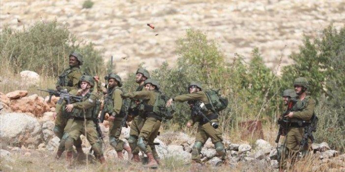 İsrail askerleriBatı Şeria'da 12 Filistinliyi yaraladı