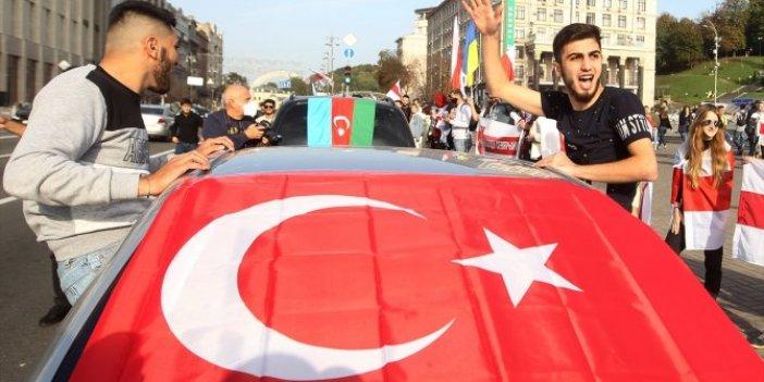 Kiev'de Azerbaycan'a büyük destek
