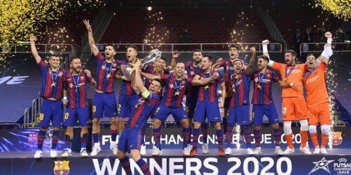 Barcelona Futsal şampiyonu oldu