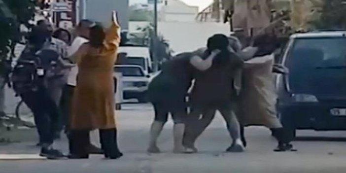 4 kadın 1 kadını öldüresiye dövdü