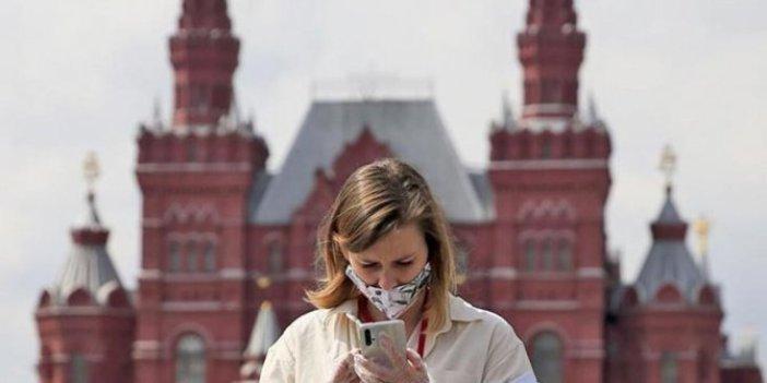 Rusya'da Kovid-19 vakası sayısı 1 milyon 312 bini geçti