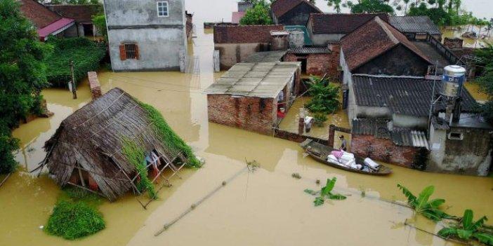 Vietnam'daki sel felaketinde ölü sayısı 20'ye çıktı
