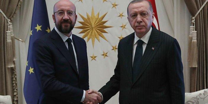 Erdoğan, Michel ile telefonla görüştü