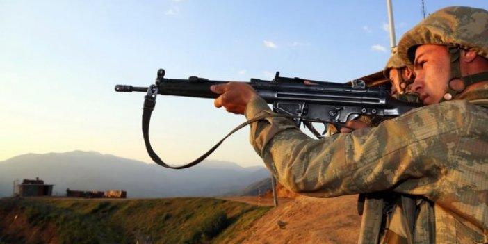 2 PKK'lı havadan vuruldu
