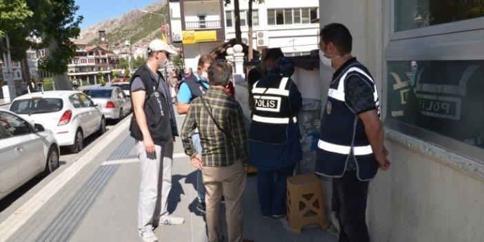Amasya'da korona denetimlerinde rekor ceza