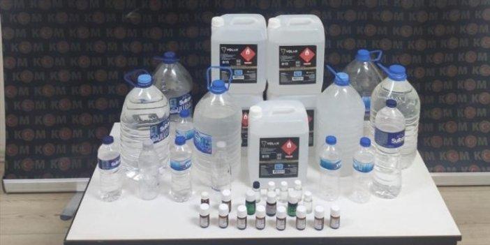 Sahte içki operasyonları yurt genelinde sürüyor
