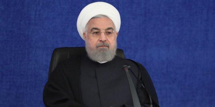 İran Cumhurbaşkanı Ruhani'den silah ambargosuyla ilgili flaş açıklama