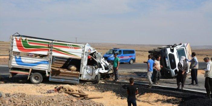 Şanlıurfa'da korkutan kaza: 3 yaralı