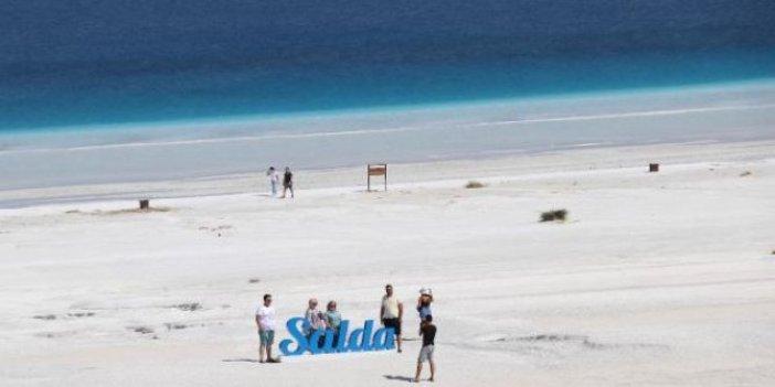 Salda Gölü'ne yapılacak tam 36 kilometre. Vali açıkladı