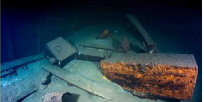 Arkeologlar haberi tüm dünyaya duyurdu. Denizin altından tarih fışkırdı. Almanlar, Ruslardan çalmıştı. Değeri 500 milyon dolar