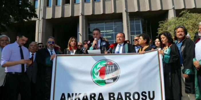 Avukatlara baskı iddiası. Ankara Barosu'ndan çoklu baro hamlesi