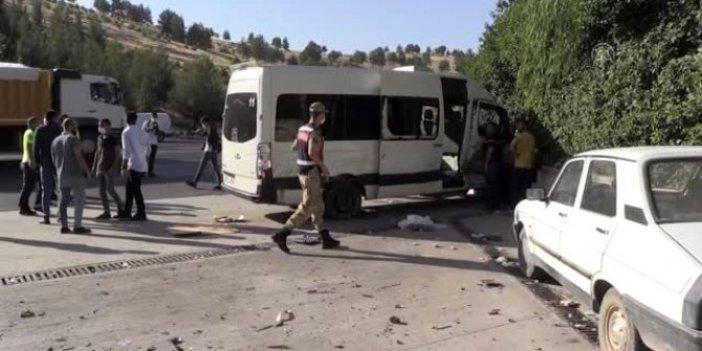 Urfa'da feci kaza. Yaralılar var