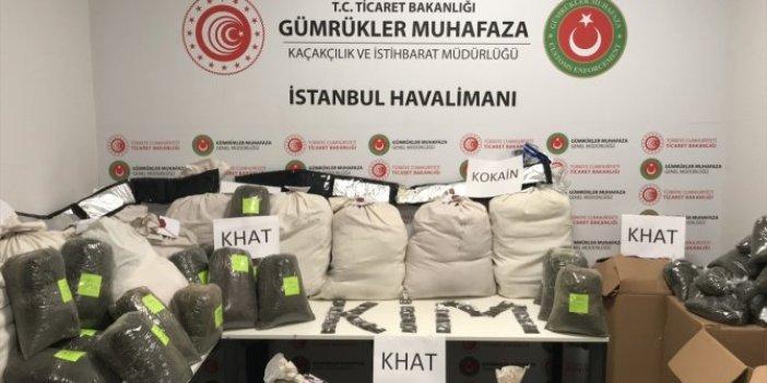 İstanbul Havalimanı'nda uyuşturucu operasyonu: 9 gözaltı