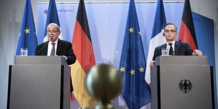Almanya ve Fransa Türkiye'ye 1 hafta süre verip tehdit etti