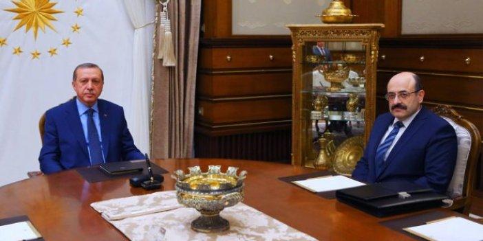 Cumhurbaşkanı Erdoğan YÖK Başkanı Yekta Saraç ile görüştü